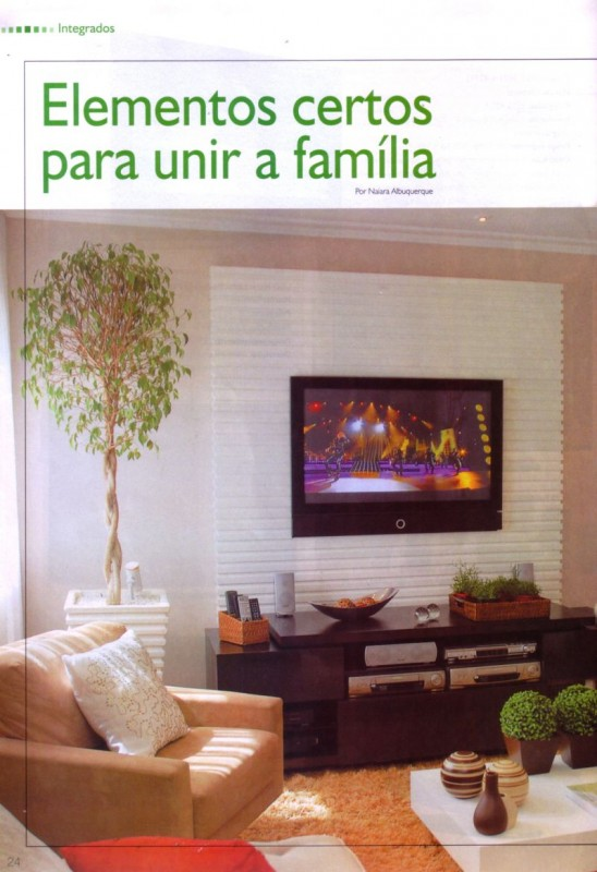 Salas de TV - Arquitetura & Design