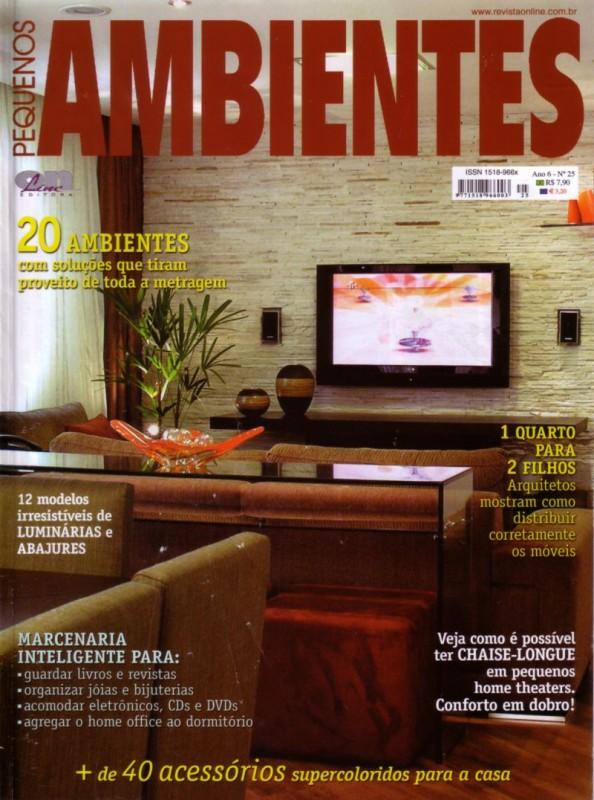 Pequenos Ambientes - Arquitetura & Design