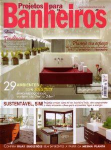 Projetos para Banheiro - Capa - Arquitetura & Design