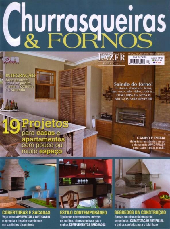 Churrasqueiras e Fornos - Arquitetura & Design
