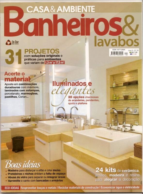 Banheiros e Lavabos - Arquitetura & Design