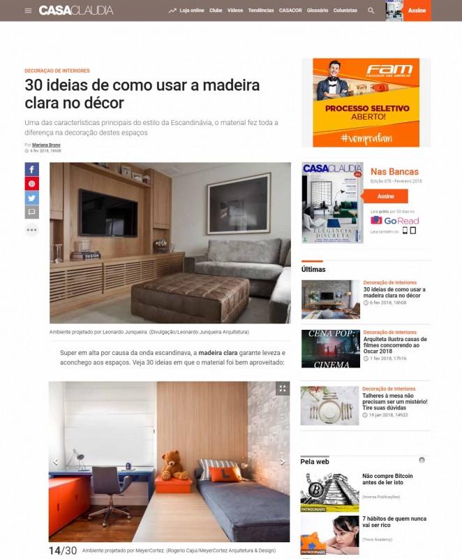 Casa Cláudia Online - Arquitetura & Design