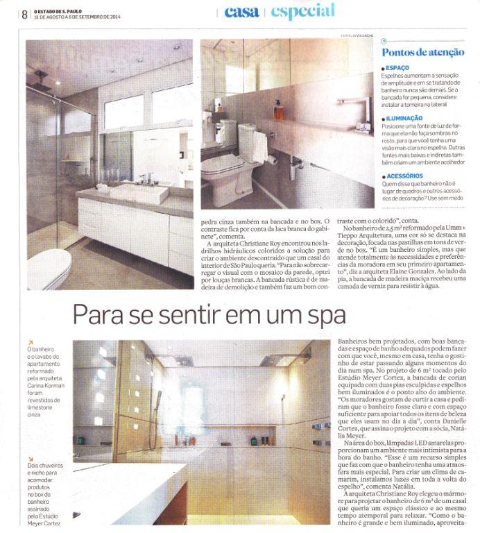 Caderno Casa Estadão - Arquitetura & Design