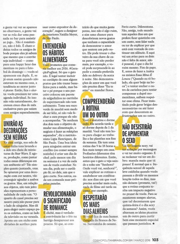 Cosmopolitan - Arquitetura & Design