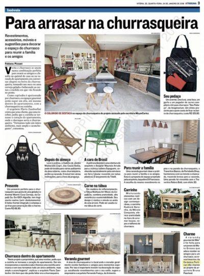 Jornal A Tribuna - Arquitetura & Design
