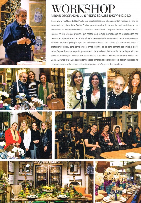 Revista Maria Pia Casa - Arquitetura & Design