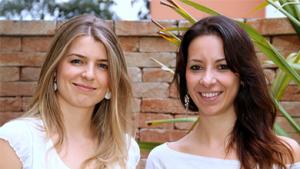 Natália Meyer e Danielle Cortez